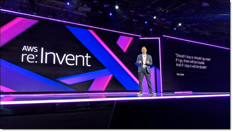 AWS re:invent 2019