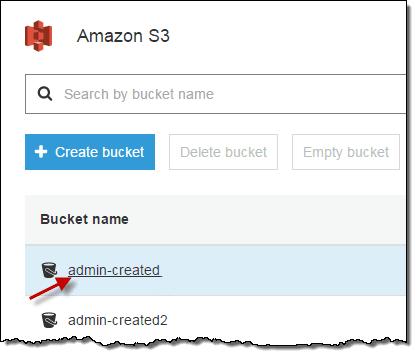 Reduire facture S3 AWS, selectionnez votre bucket