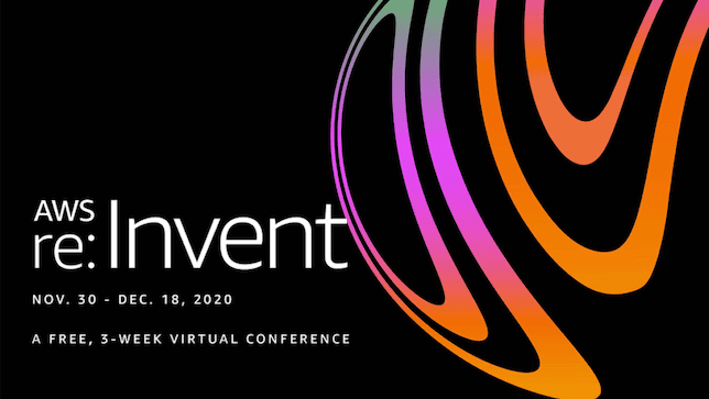 programme aws re:invent 2020